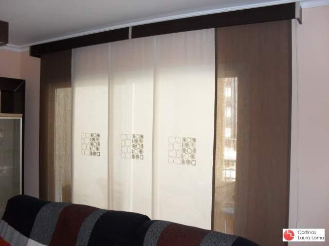 Paneles japoneses cortinas en m laga laura lama - Estores malaga ...